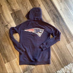 NE patriots PINK hoodie